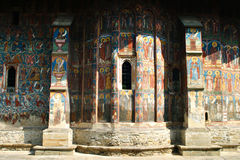 Het klooster van Moldovita Stock Afbeelding