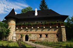 Het klooster van Moldovita Stock Afbeeldingen