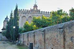 Het klooster van muren Stock Afbeeldingen