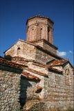 Het Klooster van Naum van Sveti in Macedonië royalty-vrije stock foto
