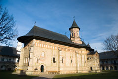 Het klooster van Neamt Royalty-vrije Stock Foto's