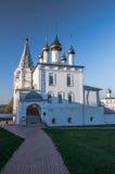 Het klooster van Nicolo Trinity van de mensen Gorokhovets Het Vladimir-gebied Begin September 2015 Stock Fotografie