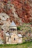 Het klooster van Noravank in Armenië Stock Afbeelding