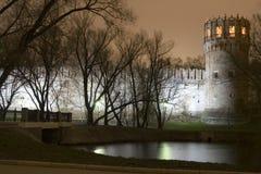 Het klooster van Novodevichii stock foto's