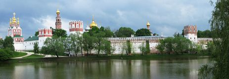 Het Klooster van Novodevichiy Royalty-vrije Stock Fotografie