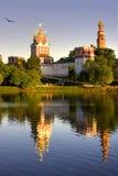 Het klooster van Novodevichy Royalty-vrije Stock Fotografie