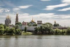 Het Klooster van Novodevichy in Moskou Stock Foto