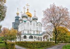 Het Klooster van Novodevichy in Moskou Stock Afbeelding