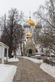Het Klooster van Novodevichy in Moskou Royalty-vrije Stock Afbeeldingen