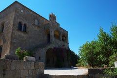 Het klooster van Onze Dame stock fotografie