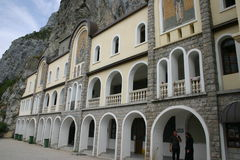 Het Klooster van Ostrog stock fotografie