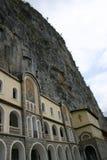 Het Klooster van Ostrog stock afbeeldingen
