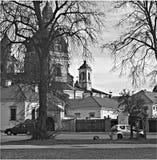Het klooster van Paž aislis Royalty-vrije Stock Foto's