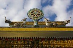Het klooster van Pemayangtse stock fotografie