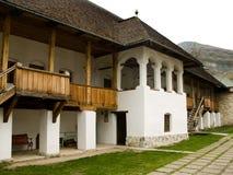 Het klooster van Polovragi Royalty-vrije Stock Foto's