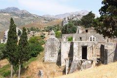 Het klooster van Preveli Stock Afbeelding