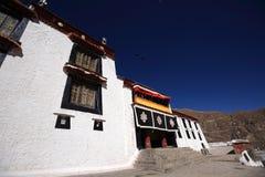 Het Klooster van publieks hallof Drepung Stock Foto