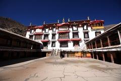 Het Klooster van publieks hallof Drepung Royalty-vrije Stock Afbeelding