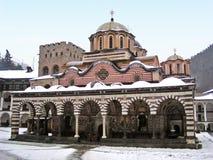 Het Klooster van Rila (Bulgarije) Stock Foto's