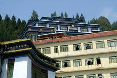 Het Klooster van Rumtek Stock Foto's