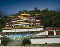 Het Klooster van Rumtek in Sikkim Stock Foto's