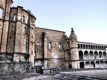 Het klooster van San Benito Stock Foto