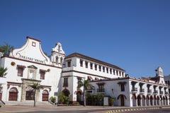 Het klooster van San Francisco in Cartagena DE Indias Royalty-vrije Stock Afbeelding
