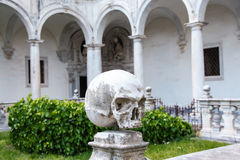 Het klooster van San Martino chartreuse in Napels Stock Foto