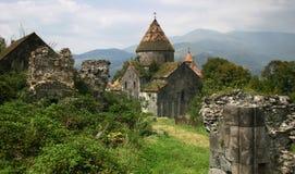 Het klooster van Sanahin in Armenië Stock Foto