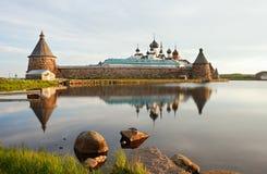 Het Klooster van Solovetsky royalty-vrije stock afbeelding