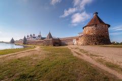 Het klooster van Solovetsky Royalty-vrije Stock Foto's