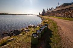 Het klooster van Solovetsky Stock Foto's