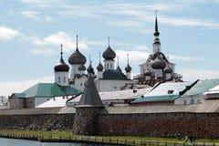 Het Klooster van Solovetsky Stock Fotografie