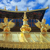 Het Klooster van Songzanlin Stock Fotografie