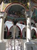 Het klooster van St David royalty-vrije stock afbeeldingen