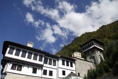 Het klooster van St Jovan Bigorski royalty-vrije stock foto
