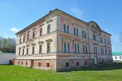 Het klooster van Starayaladoga Sinterklaas royalty-vrije stock afbeeldingen