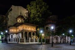 Het Klooster van Stavropoleos Stock Foto