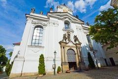 Het Klooster van Strahov (Praag, Tsjechische Republiek) Stock Afbeeldingen