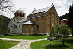 Het Klooster van Studenica Stock Foto