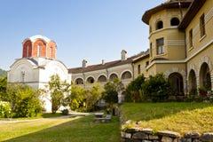 Het Klooster van Studenica - Servië. Royalty-vrije Stock Fotografie