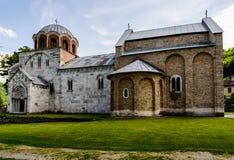 Het klooster van Studenica, Servië Royalty-vrije Stock Afbeeldingen