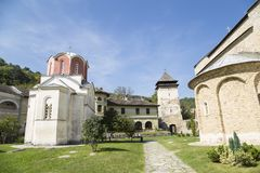 Het klooster van Studenica royalty-vrije stock foto's