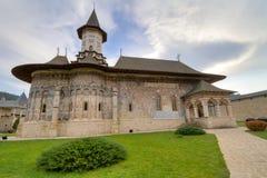 Het Klooster van Sucevita stock afbeelding