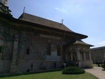 Het Klooster van Sucevita Royalty-vrije Stock Foto's