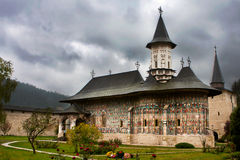 Het Klooster van Sucevita, Bucovina Roemenië Stock Afbeelding