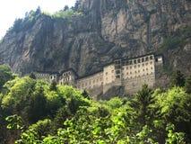 Het Klooster van Sumela Stock Foto