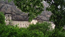 Het Klooster van Sumela in Trabzon, Turkije Royalty-vrije Stock Afbeeldingen