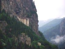 Het Klooster van Sumela in Trabzon, Turkije Stock Foto