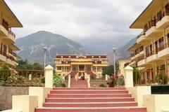 Het Klooster van Tantric van Gyuto Stock Afbeelding